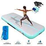 ALIFUN Air Track 16ft Airtrack Thick 8 inches Tumble Track Gymnastics Inflatable Mats with Electric Air Pump for Tumbling Training/Home Use/Cheerleading/Yoga/Taekwondo