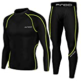 set da uomo, 2 pezzi maglia e pantaloni, motivo: mimetico, stile sportivo, per corsa e allenamento, ad asciugatura rapida, kboo-green line, xxxl