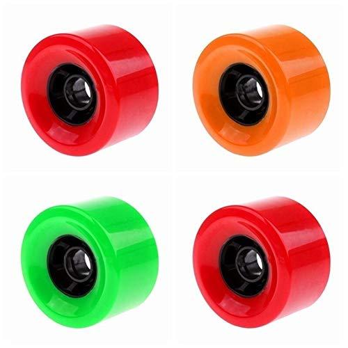 Mrjg 1PC Neue Gute Qualität Skateboard Wheels 83mm 90mm 97mm PU elektrisches Skateboard Räder Wheels (Color : 90mm Black)