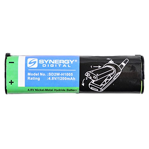 Synergy Digital Replacement Battery, Works with Motorola NNTN4190A Replacement, (Ni-MH, 4.8V, 1200 mAh) Ultra Hi-Capacity, Compatible with Motorola NNTN4190 Battery