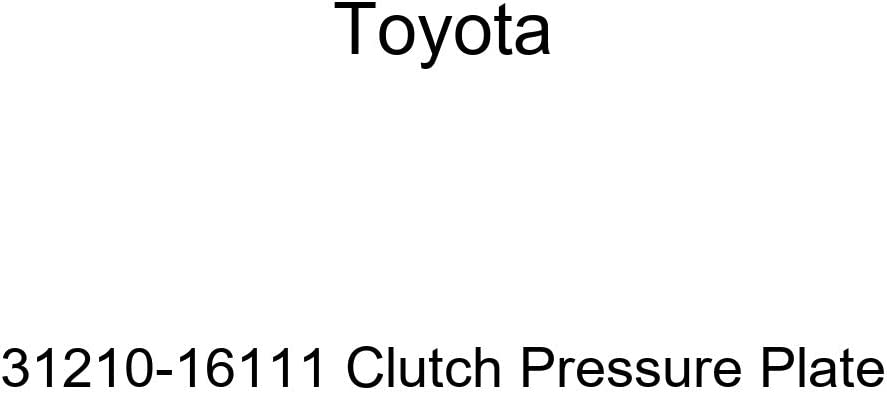 low-pricing TOYOTA 31210-16111 Clutch Seattle Mall Plate Pressure