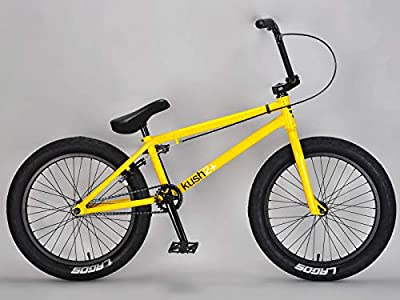Mafiabikes Kush 2+ 20 inch BMX Bike Yellow