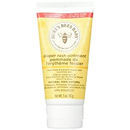 Burt's Bees Baby Bee 100% Natural Diaper Rash Ointment, 3 oz Pack of 3