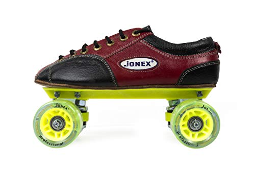 JJ Jonex Fix Body Quad Shoe Skates Profesional for Kids with Free Bag Size 2 UK ( 22 cm) (MYC) (2)
