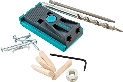 wolfcraft 4643404 Pocket Hole Woodjoining Jig Kit
