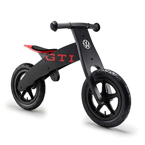 Volkswagen 1H2050251 Kinder-Laufrad im VW GTI Design, Holzrahmen, ab 3 Jahre, bis zu 30 kg