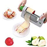 Dlovey Fruits Slicers, Multifunction Graters Spiralizer Veggie Chopperfor Potatoes, Zucchini, Beetroot, Apples, Pears
