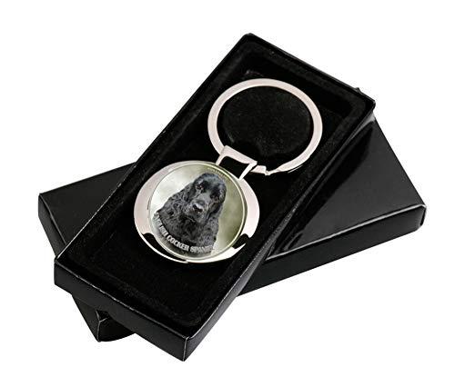 LUKKA English Cocker Spaniel Schlüsselanhänger in Geschenksverpackung
