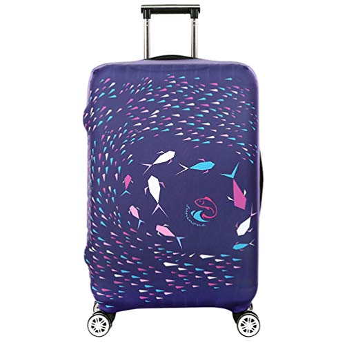 YiiJee luggage Cover Elastico Cover Anti-Polvere Proteggi Valigia Cover Antigraffio Protettiva per Valigia Come Immagine2 M