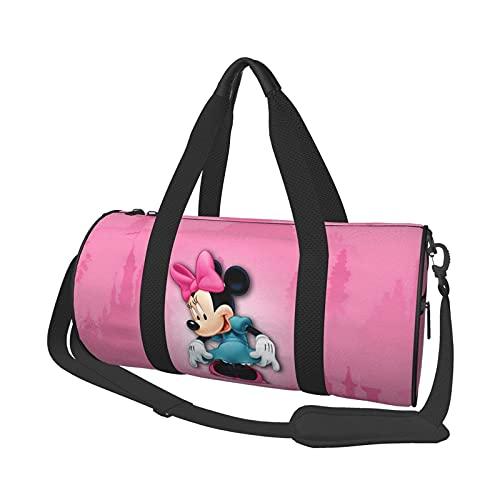 Bolsa de viaje para ratón, redonda, ideal para hombres y mujeres, grandes bolsas de viaje plegables
