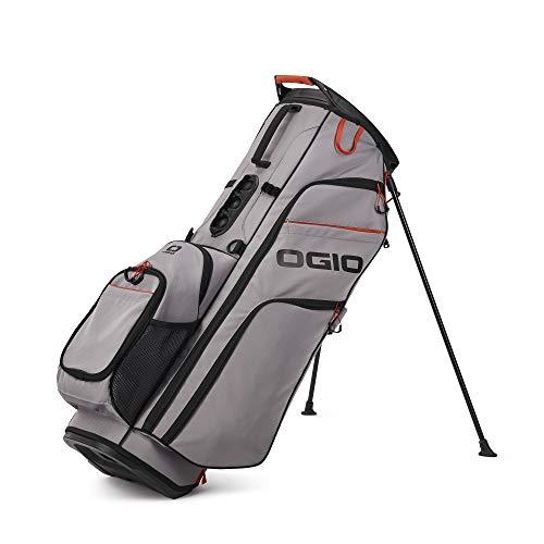 OGIO 2021 WOODE 8 Hybrid Stand Bag Grey