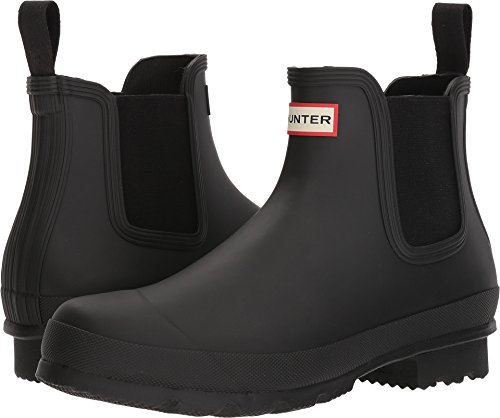 HUNTER Original Chelsea Boot Black 9