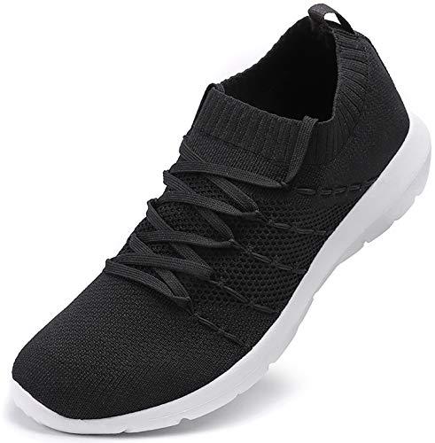 Atletische wandelschoenen voor dames Lichtgewicht casual mesh Comfortabele gebreide sneakers Loopschoenen
