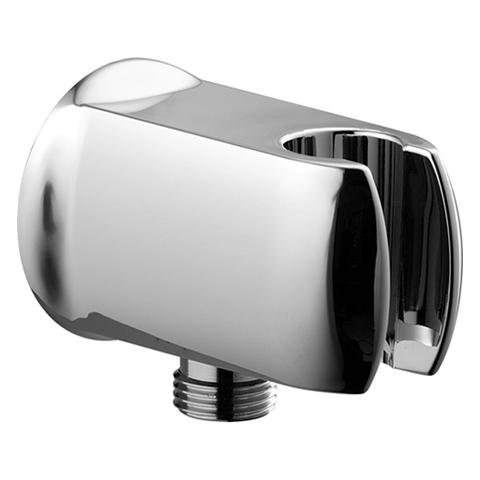 Best Prices! Hansa 0446 0100 0017 Wall Connection Elbow, 1/2, with Hand Shower Holder, Chrome