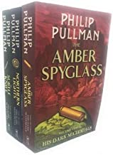 Philip Pullman His dark materials Trilogy 3 books Set Pack RRP 21.97 ( The Golden Compass, The Subtle Knife, The Amber Spyglass)(Philip Pullman Collection)