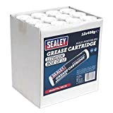 Sealey sgc12 cartucho de grasa, 400 g, Set de 12