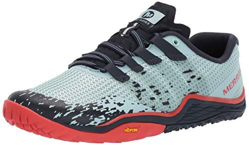 Merrell Trail Glove 5, Zapatillas Deportivas para Interior Mujer, Azul (Aqua), 38.5 EU