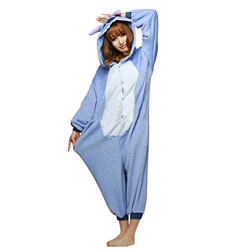 Kigurumi Pajamas Pikachu Stitch Dinosaur Giraffe Panda Unisex Adult Cosplay Costume Animal Pyjamas Onesies Schlafanzug Kostueme