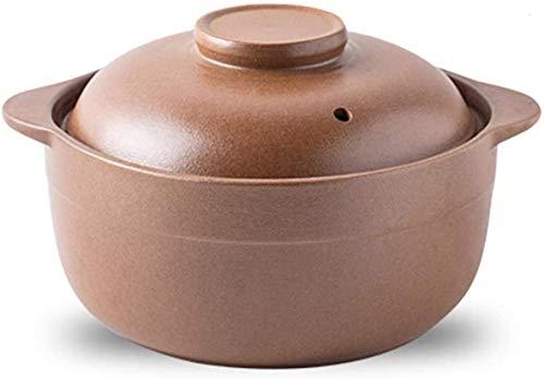 YUSHIJIA Ollas de cerámica Casserole Pot Ceramic Cooking Po
