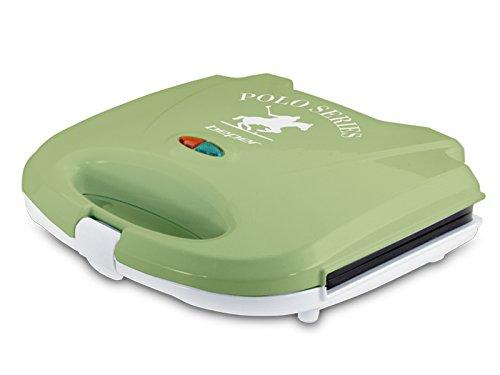 BEPER Sandwichera, Color, Blanco y Verde, 24.5 x 9.5 x 23 cm