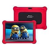 [4 Bonus Item] Simbans TangoTab 10 Inch Kids Tablet with RED Bumper Case 2020 Model, 3 GB RAM, 64 GB Disk, Android 9 Pie, WiFi, USB, HDMI, Bluetooth, 2+5 MP Camera Computer PC - TK93