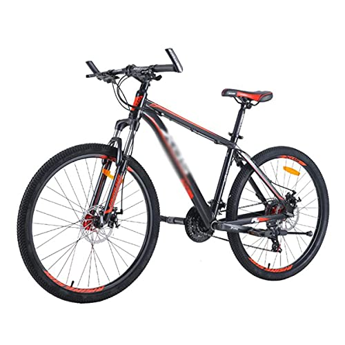 Bicicleta de montaña para hombres, mujeres, adultos y adolescentes, 24 velocidades, 26 pulgadas, rueda, freno de disco doble, suspensión completa, bicicleta MTB para senderos, senderos y montañas (Col