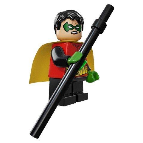 LEGO Robin Minifigure, from DC Comics Super Heroes Set 76013
