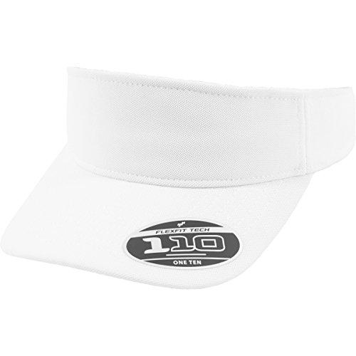 Flexfit Schirmmützen 110 Visor, white, One Size, 8110