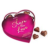 ASTOR Chocolate Valentines Day SHARE THE LOVE 3.1 Ounce Belgian Heart Box