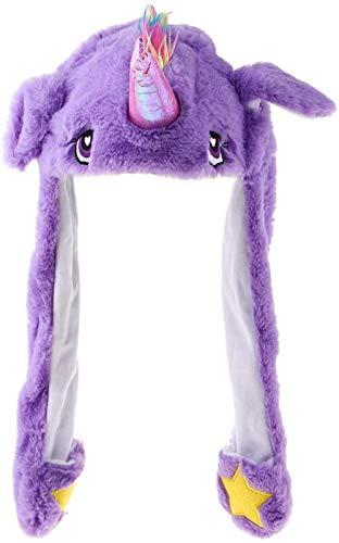 Cute Animal Hat, Pluche Hoed, interessant oor op en neer bewegen Volwassen Kinderen Winter warme muts