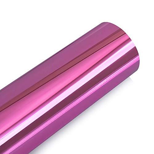 10 / 30x100 cm Espejo de cromo Vinilo envoltura de vinilo Pegatina de cochera Calcomanía DIY Coche Motor Cuerpo Cubierta CUERCA DE ENVÍCULACIÓN CHILLADA AUTOMÁTICOS ACCESORIOS Kaxceay (Color : Pink)