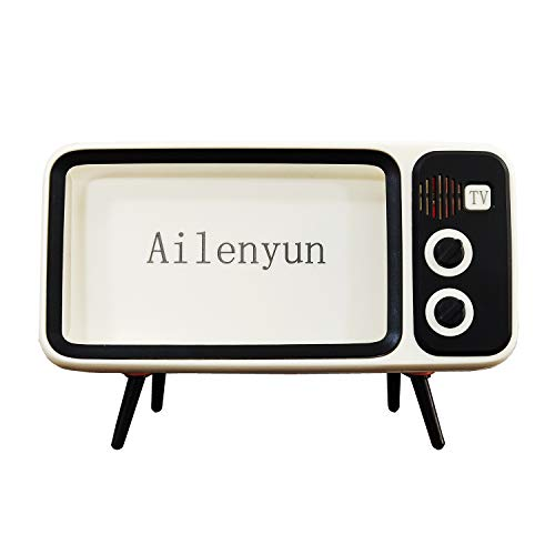 Ailenyun Phone Screen Bracket TV Style Mobile Phone Holder. with Speaker. for iPhone 8 Plus / 7s Plus/7 Plus / 6s Plus/ 6 Plus .A Smart Gift for Family, Girl/Boy Friend.