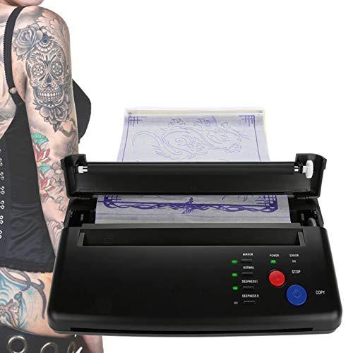 FUMENG Impresora de Tatuajes, Máquina de Transferencia de Tatuajes Impresora térmica Profesional...