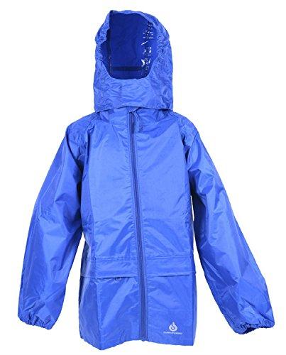 The MONOGRAM Group Ltd Dry Kids Packaway wasserdichte Jacke - Blau - 9/10 Jahre