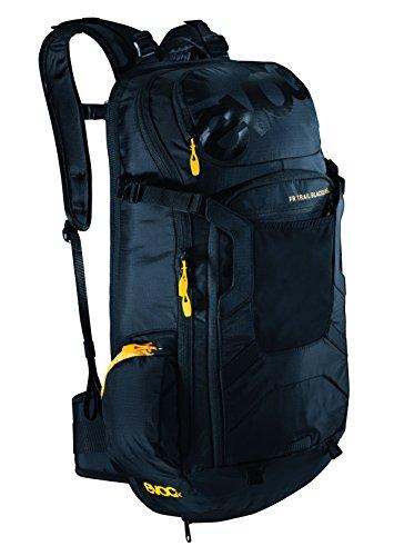 Evoc FR TRAIL BLACKLINE 20l - Mochila para el ciclista con protector de espalda 20 Litros negro Talla:XL-20 L