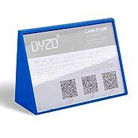 DYZD カード立て ポップ スタンド v型 100X70mmm ダークブルー 6個入り