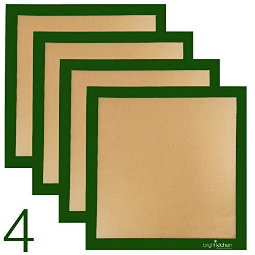 4 X ParaFlexx Ultra Silicone 14x14 Non-Stick Fruit Leather Paraflexx Sheet: use with Excalibur (Renewed)
