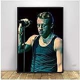Swarouskll Macklemore Poster Drucke Wohnzimmer Wandkunst