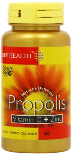 Bee Health Propolis Vitamin C & Zinc - 60 Tablets