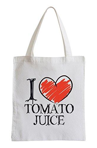 I love jus de tomate Fun sac de jute