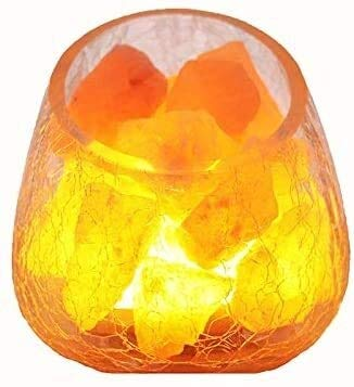 Tafellamp Kristal Zout Lamp Himalaya Rose Mineraal Zout Nachtlampje Mode Decoratie Kleine Tafellamp Slaapkamer Nachtlampje