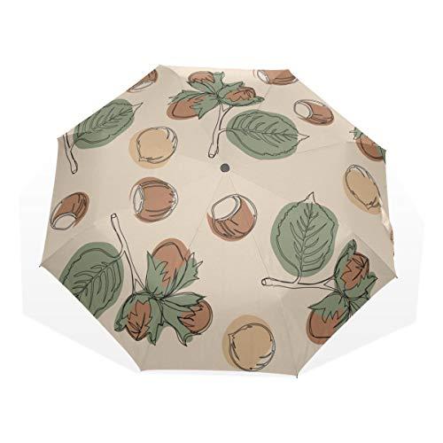 Lightweight Umbrella Compact Creative Hazelnut Dried Fruit...