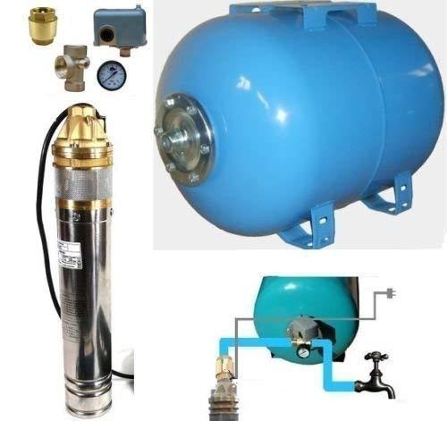 Huiswaterpomp met roestvrij staal diepe bronpomp 4
