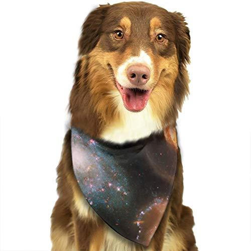 Galaxy Universe Spirals Stars Cluster Telescoop Hubble aangepaste hond kat Kerchief halsdoek Set Geschikt voor kleine tot grote hond katten
