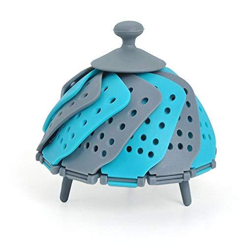 Parrilla de vapor Vaporera de cocina Cesta de vapor Acero inoxidable Cesta...