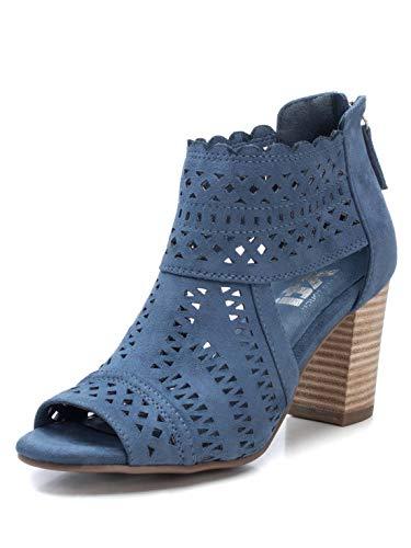 XTI Botín XTI044093 para Mujer Azul 38