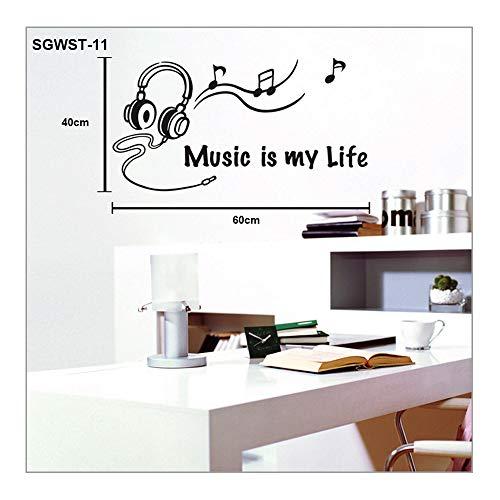Pegatina Vinilo Musica  marca Bodaq Home