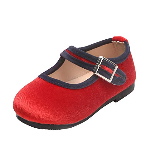 Zapatos Terciopelo Unisex Niñas Niños Otoño 2018