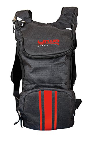 y two YTwo Droom 4.1 Sac d'hydratation Mixte Adulte, Noir/Rouge