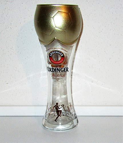 Erdinger / Bierglas/Weißbierglas/WM/Fußball-Edition/Pokal-Glas/WM-Pokal/Original